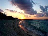 黒島の西の浜の写真
