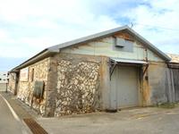 南大東島の石造りの倉庫