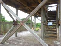 南大東島の大池展望台/東水門 - 東門を目指していくとたどり着ける