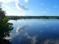 南大東島の瓢箪池/月見池/月見橋 - 公園もあるが人気が全く無い・・・