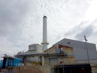 南大東島の大東糖業/大東製糖工場/石造りの倉庫