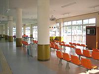 水納島の渡久地港/水納島へのアクセス - 渡久地港の旅客ターミナル