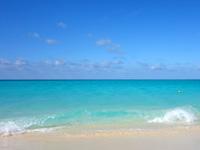 宮古島の与那覇前浜 - 遠浅ですが沖へ行くと確実に深くなる