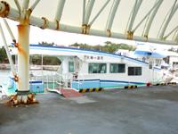 宮古島の島尻港/大神海運 - 比較的新しい船
