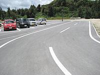 宮古島の島尻港/大神海運 - 駐車場はきちんと整備されています