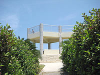 宮古島の西平安名崎 - 展望台があります