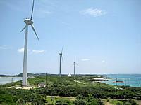 宮古島の西平安名崎 - 西平安名崎といえば風車!復活しています
