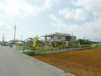 宮古島の軽食・パーラー てんとむし - 幹線道路から脇道を入った場所