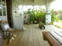 宮古島のキッチンみはら - テラスの居心地はかなり良い