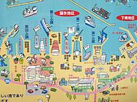 宮古島の平良港マリンターミナル まりんぴあみやこ - 平良港のマップです