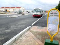 宮古島の平良港マリンターミナル まりんぴあみやこ - 伊良部島まで行く路線バスがあります