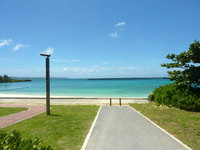 宮古島のパイナガマビーチ - 公園らしくなったビーチです
