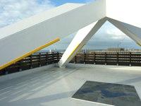 宮古島のカママ嶺公園 - 展望台の屋上