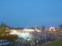 宮古島のカママ嶺公園 - オリオンビアフェストが開催されたのは数回