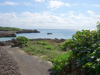 ブリーズベイビーチ/文化村ビーチ/ハート岩