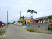 宮古島のクマザ集落/みやちゃん食堂 - いわくつきのカフェの建物は残ったまま