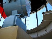 宮古島の平安名崎灯台 - 灯台内部の最上部