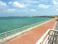 宮古島のトゥリバー海浜公園 - 平良港に面する部分の護岸整備