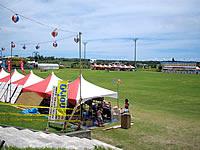 宮古列島 宮古島の宮古島市多目的前福運動場の写真