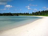宮古列島 宮古島のクウラビーチ/久浦ビーチの写真
