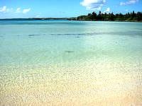 宮古島のクウラビーチ/久浦ビーチの写真