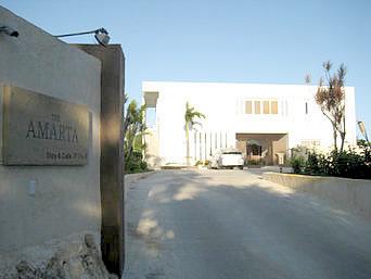 宮古島のカフェ アマルタ/Cafe AMARTA(宿泊者専用・ビジター利用不可・実質閉店)「ジ・アマルタ(宿泊施設)内にあるカフェ」