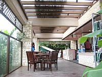 宮古島のシギラビーチハウス - ビーチハウスのテラス席