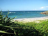 宮古島の宮古南岸のビーチ