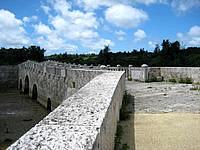 宮古島の島尻のマングローブ林 - 途中に石橋もありました