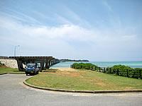 宮古島の池間大橋展望所