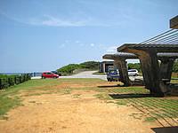 宮古島の池間大橋展望所 - 駐車場とトイレがあって休憩も可能です