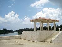 宮古島の入江湾展望台
