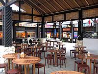 宮古島の琉球の風/琉球離島マーケット/南風屋台村/南風バーベキュー - 食事は半屋外で行うらしい
