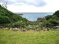 宮古島のリフレッシュパークプール - 海は見えるが行くことは出来ません