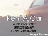 那覇のニッポンレンタカー 那覇空港第2営業所(フリーゾーン)