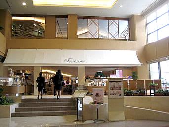 那覇のカフェレストラン フォンテーヌ(ロワジールホテル内)「ロワジールホテルの1階にあります」