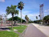 那覇の奥武山公園 - 公園内はジョギングコースも整備