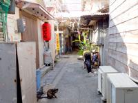 那覇の栄町市場 - 路地はどこも怪しい雰囲気