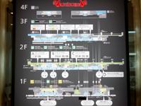 那覇の那覇空港国際線ターミナル - 3つのターミナルマップ
