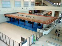 那覇の那覇空港国際線ターミナル - チケットカウンターは接続ターミナルへ移転