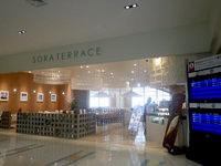 那覇の那覇空港国際線ターミナル - 2階のカフェレストラン