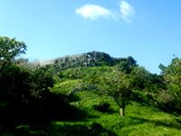 南部の玉城城跡