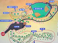 南部の八重瀬公園/八重瀬岳 - 八重瀬公園マップ