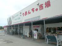 南部の道の駅いとまん/うまんちゅ市場 - 軒先に飲食店複数有り