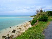 大神島の西の砂浜/パマサス/マウケー/カーキヌパー - 港からは結構近いです