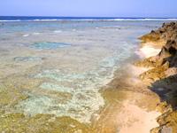沖永良部島のフーチャ東の海