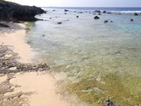 沖永良部島のフーチャ東の海の写真