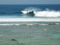 沖永良部島の沖永良部島サーフポイント/北岸 - まさにサーフポイント
