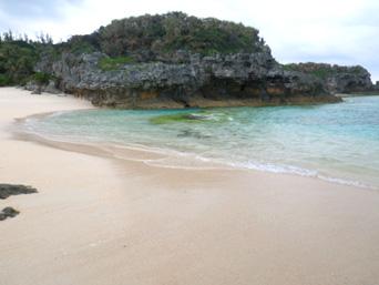 沖永良部島の正名海岸「島西側の穴場のビーチ」