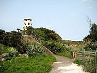 沖永良部島の笠石海浜公園 展望台